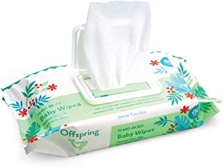 Sponsored Ad - Offspring Baby Wipes, Softer Larger Thicker and More Absorbent Eco Friendly Plant Cellulose Based Wet Wipes...