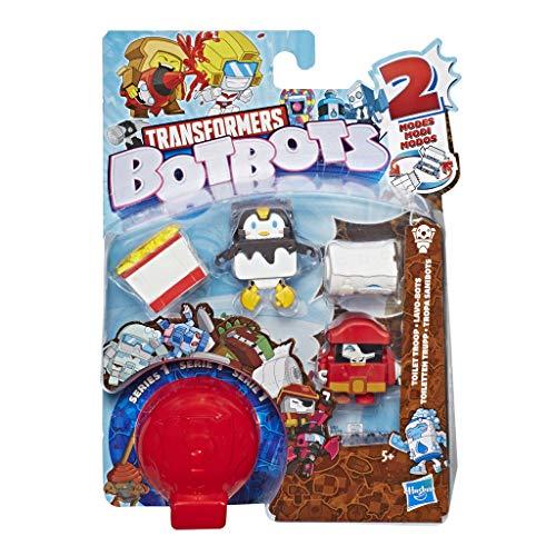 Transformers Spielzeuge BotBots Team 5er-Pack - geheime 2-in-1 Figuren zum Sammeln - Für Kinder ab 5 Jahren (Stil und Farbe können abweichen) von Hasbro