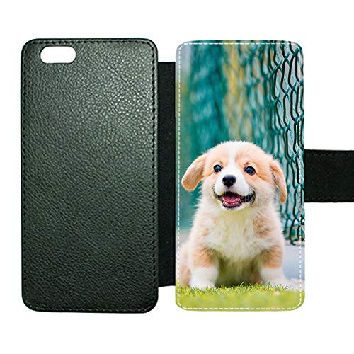 Gogh Yeah Impresión Pet Dog Las Fundas De Pie Cubren La Ranura para Tarjetas De Soporte Compatible En iPhone 6 Plus 6S Plus Chicas Individualidad Choose Design 114-3