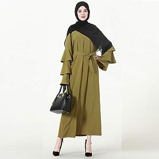Women Turkey Qatar Bangladesh Muslim Hijab Dress Jilbab Robe Dubai Elbise Turkish Islamic Clothing