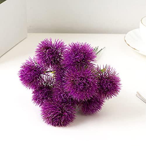 RUMUI 10 Piezas de Flores Artificiales de Diente de león