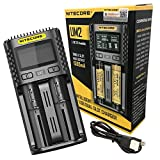 Best 18650 Battery Charger - Nitecore UM2