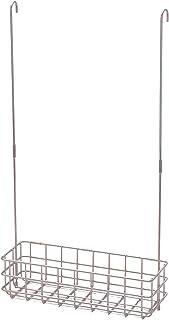 [ベルメゾン] バスラック ステンレス タオルバーに引っ掛ける 浴室用ラック 幅約30