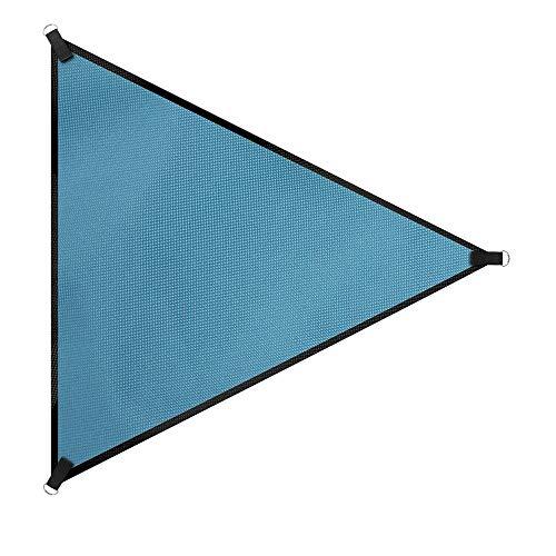 JWC Dreieck Sonnenschirm Segel, UV-Block Baldachin Markise, Hinterhof wasserdicht Sonnenschirm Stoff, langlebig, Garten-Terrasse im Freien