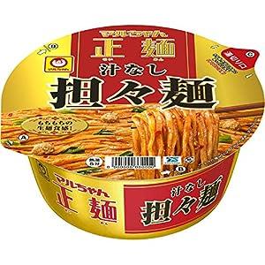 """マルちゃん正麺 カップ 汁なし担々麺 133g ×12個"""""""
