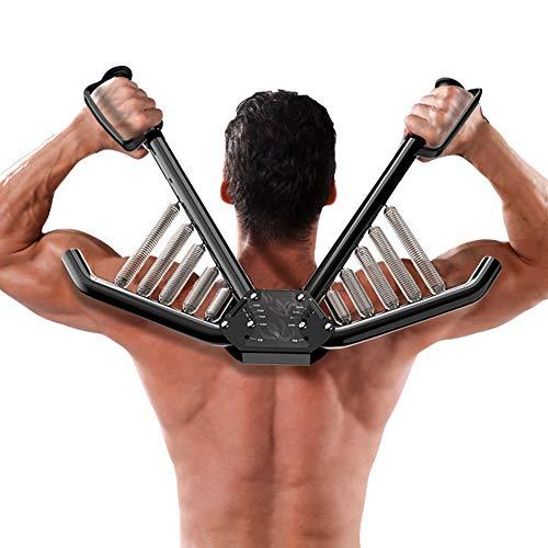 Fitness Power twister Barre /à Ressort avec r/ésistance 70//80//90 kg,Accessoire de renforcement Musculaire Professionnel pour pectoraux et Bras Muscles Appareils Bras