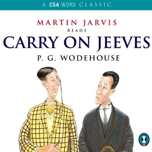 Carry On, Jeeves audiobook cover art