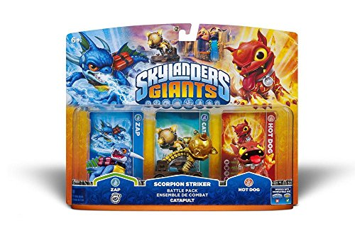 Skylanders GIANTS - Battle Pack 2: Zap, Hot Dog, Scorpion Striker Catapult (alle Systeme)