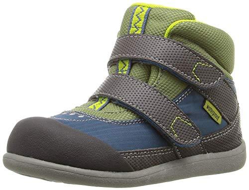See Kai Run Boys' Atlas WP Rain Boot, Blue, 8 M Toddler