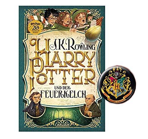 Carlsen Verlag Harry Potter e il calice di fuoco (4° nastro) + 1 bottone originale Harry Potter