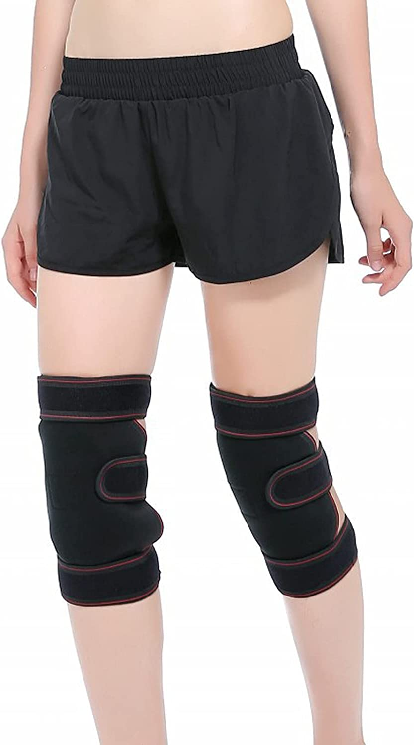 Inventory cleanup selling sale LKKHOSC Knee Pads Adjustable Kansas City Mall Open and for Patella Men