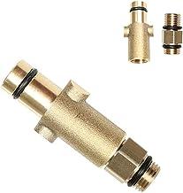 Mannelijke draad Adapter en druk Washer Koper Schuim Cannon Fles Connector Messing Vrouwelijke Adapter van Sneeuw Schuim L...