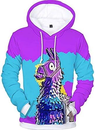 Fortnite Hoodie Hooded Sweatshirt for Kids,Boys,Girls and Youth-M