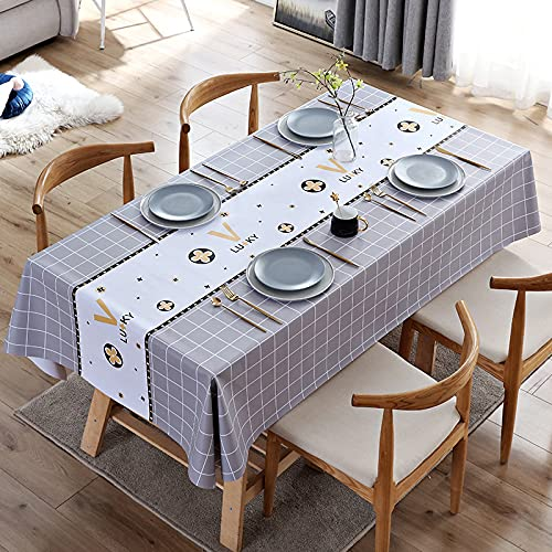 sans_marque Mantel de mesa, cubierta de mesa, adecuado para mesa de buffet, fiesta, cena de vacaciones, celebración de boda mantel120 x 170 cm