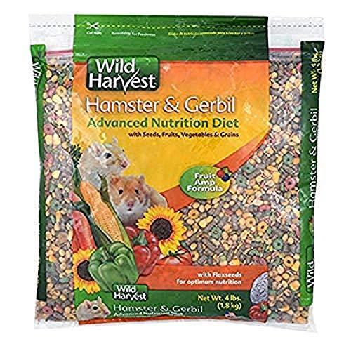 Wild Harvest Hamster And Gerbil Advanced Nutrition Diet, 4-Pound