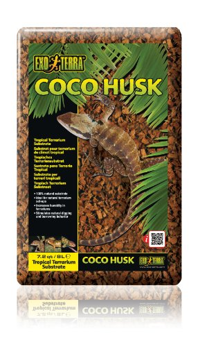 Exo Terra Coco Husk, 7.2-Quart (Packaging May Vary)