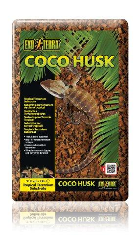Exo Terra Coco Husk, 7.2-Quart (Packaging May Vary)