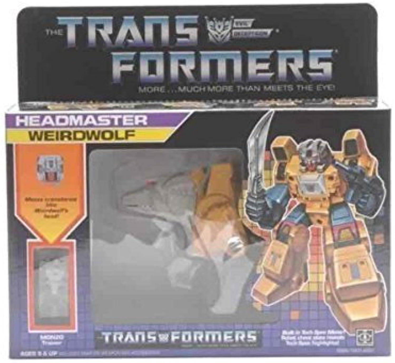 para proporcionarle una compra en línea agradable Transformers Transformers Transformers WEIRDWOLF G1 Decepticon Reissue Edition  ventas en linea