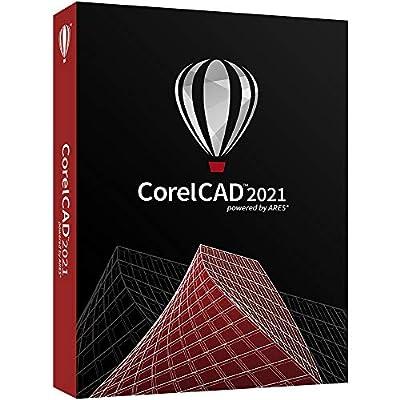 CorelCAD 2021 | CAD Software | 2D Drafting, 3D Design & 3D Printing [PC/Mac Disc]