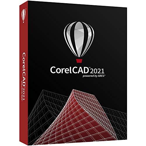 CorelCAD 2021 | Logiciel CAD | Dessin 2D, conception 3D, et impression 3D [Disque PC/Mac]|Version complète|1 appareil|licence perpétuelle|PC/Mac|Disque