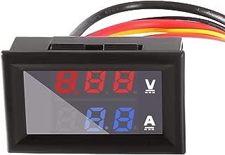 Dual Display Digital Voltmeter Ammeter Panel, AiTrip 0.28