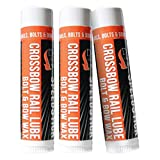 Dead Down Wind Bow Wax Rail Lube | 3 Pack | Unscented | Crossbow Hunting Accessories, Waterproof Archery Bow String Wax | Helps Reduce Friction and Prevent Fraying