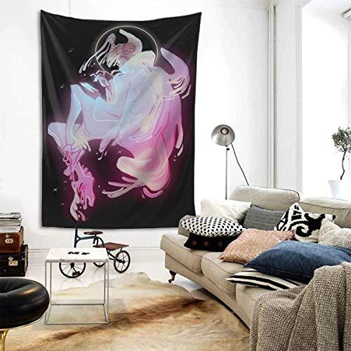 wenhe D-Evilman Crybaby - Tapiz decorativo para dormitorio o universidad, 80 pulgadas x 60 pulgadas