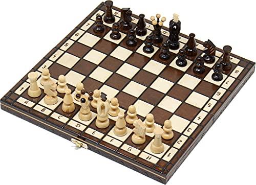 チェスジャパン 木製チェスセット ロード 31cm