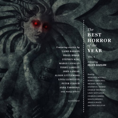 Couverture de The Best Horror of the Year, Volume 4