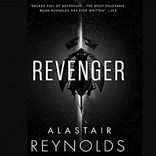 Revenger audiobook cover art