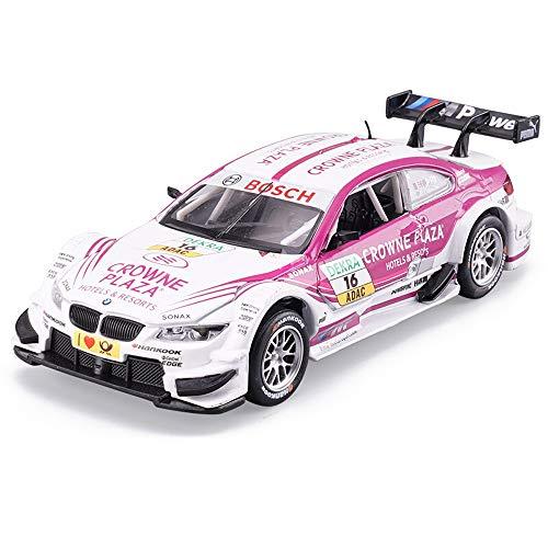 Kikioo Modelo de automóvil 1:32 Rally Racing Simulación Fundición a presión Adornos de juguete Colección deportiva Joyas Coleccionables para adultos Regalos para niños Control de mano Spinning Racing