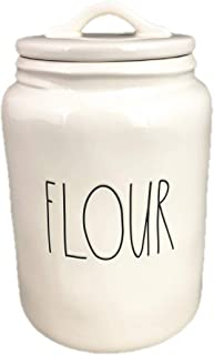 Rae Dunn by Magenta FLOUR in large letters canister