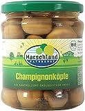Marschland Bio-Champignon Köpfe, 6 stück