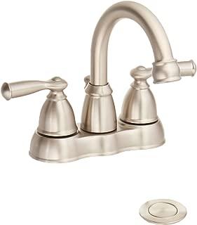 MOEN WS84913SRN Handle Hi Bath Faucet, Nickel