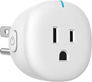 MoKo WiFi Smart Plug, Mini WiFi Outlet Mini Socket Work with Alexa Echo, Google Home, SmartThings, APP Remote Control Time...