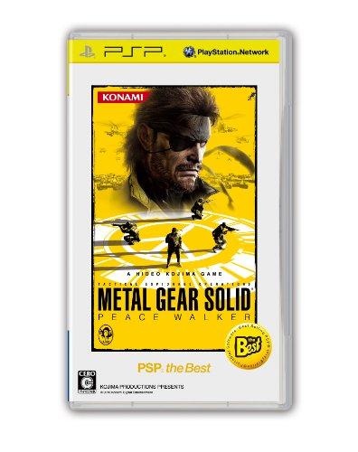 Metal Gear Solid Peace Walker [PSP the Best] [Importación Japonesa]