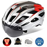Basecamp Bike Helmet, Bicycle Helmet CPSC Certified Cycling/Climbing Helmet BC-069 with Detachable...