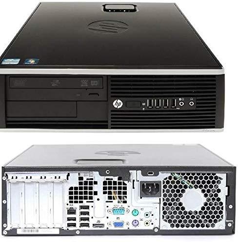 HP Compaq 8100 Elite SFF Intel Core i5 3.20 GHz 8GB DDR3 240GB SSD e 250GB HDD DVD Writer Windows 10 Home 64bit (rigenerato)