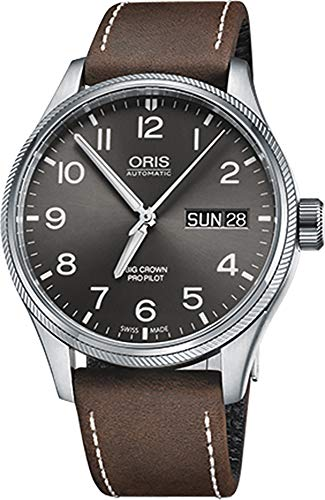 Oris Big Crown Propilot día fecha Mens Reloj