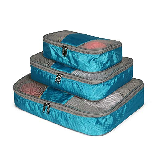 Cubos de Embalaje de Viaje Set de 3 piezas Embalaje Cubos de...