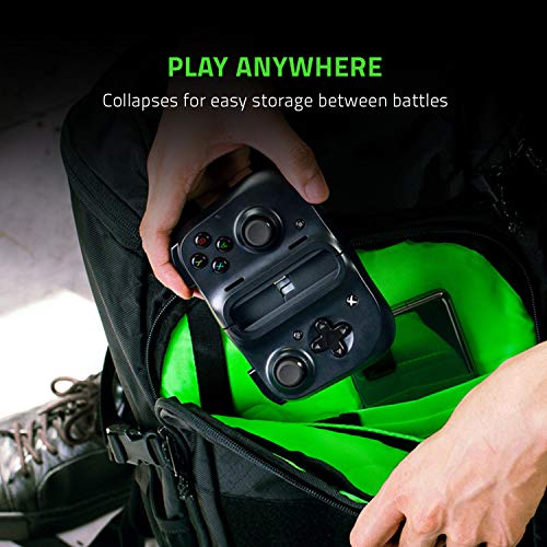Razer Kishi für Android (Xbox xCloud) - Smartphone Gaming Controller (USB-C Anschluss, Ergonomisches Design, Individuelle Passform für Handys, Analog-Stick, Ultra niedrige Latenz) Schwarz