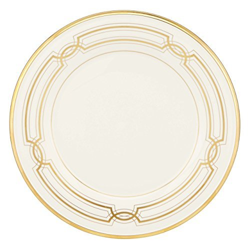 Lenox 852345?ternal 50th Anniversary Accent Plate, White by Lenox