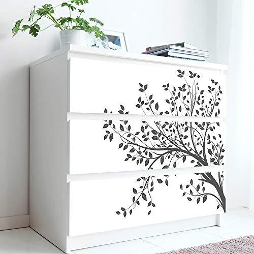 Alwayspon Calcomanías de rama de árbol para aparador IKEA MALM, pegatinas...