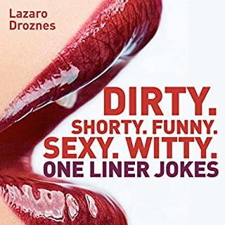 Dirty. Shorty. Funny. Sexy. Witty. One liner jokes cover art