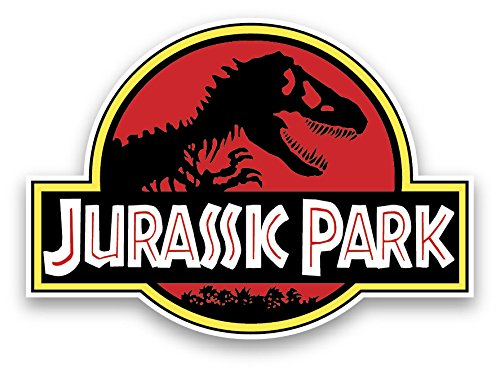 Jurassic park vinyl sticker decal 15'