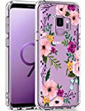 LUHOURI Samsung Galaxy S9 Case Clear with Design for Girls...