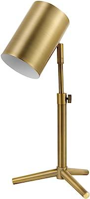 Globe Electric 52097 Pratt Desk Lamp, Brass
