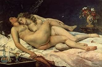 1st Art Gallery Gustave Courbet Le Sommeil, 1866 107x72 [Kitchen]