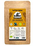 koawach Zimt + Kardamom Kakaopulver Trinkschokolade – Koffein Kakao Guarana Vegan heiße Schokolade Getränk weniger Zucker Kardamom Energy Drink Backkakao Bio Fairtrade (500g)