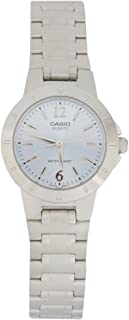 Casio Women's White Dial Stainless Steel Analog Watch - LTP-1177A-2ADF